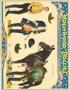 Tom Mix, Hollywood Dollies 1925 original - Bobe Green - Picasa Web Albums