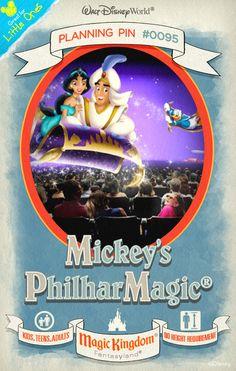 Walt Disney World Planning Pins: Mickey's PhilharMagic