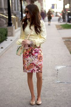 stripes and floral.  i like everything about this