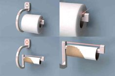 Never run out of toilet paper again!