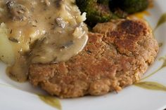 Chickpea Cutlets #vegan