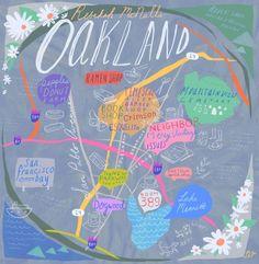 24 Hours in Oakland / via Design*Sponge