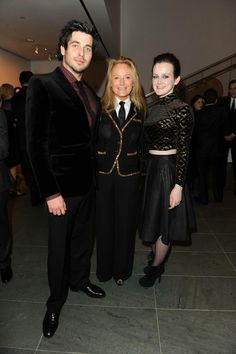 Ricky Lauren, Rob James-Collier and Sophie McShera