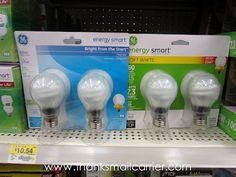 GE Energy Efficient Light Bulbs #GELighting