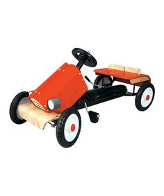 Take a look at this Racing Car Ride-On by PlanToys on #zulily today!