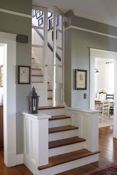 amazing staircase - with doors!
