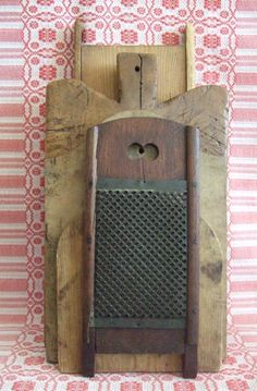 grater & doughboards