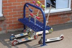 Scooter Cycle Rack