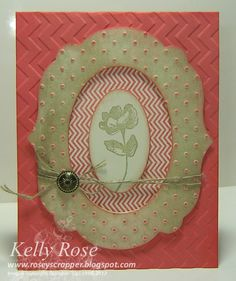 Any Occasion hand made card with Oh Hello stamp set