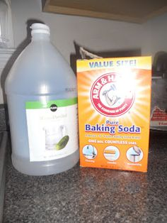 OP said: DIY carpet stain/pet stain remover:   My two new best friends--     2 tablespoons white vinegar, 1/4 Cup baking soda (at least I think the omitted measurement was a cup,because this is supposed to make a paste that you work into an old stain with a toothbrush, let dry, then vacuum.)