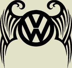 Volkswagen tribal decal