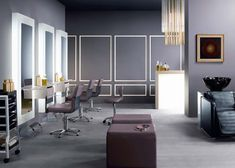 Salones de belleza hair salons on pinterest 28 pins - Salon de diseno ...