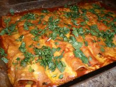Marin's Creations: Pioneer Woman's Beef Enchiladas