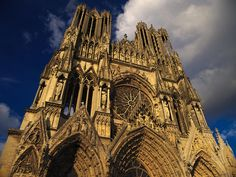Cathedral at Reims, France