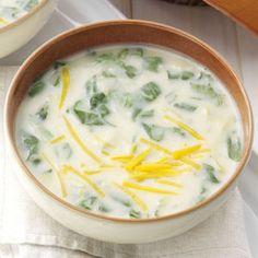 Creamy Spinach and Potato Soup Recipe