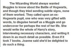 Of course this is what happened.. in which case I will be expecting my apology letter from Hogwarts any day now