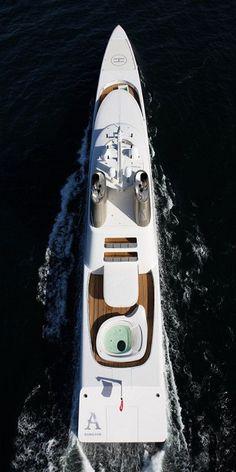White Yacht Ocean