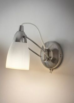 Porcelain wall light...delicate and stylish