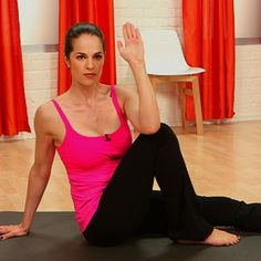 10 minute pilates routine and literally is a full body workout!!