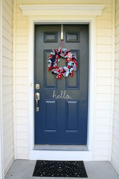 Project Nursery - Red Wagon 1st Birthday Party Front Door
