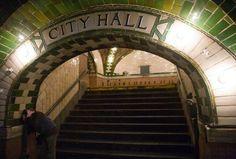 New York Underground Abandoned City Hall