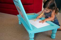 art desk, girl, artworks, cupboard doors, desks, cabinet doors, craft tables, old doors, kid crafts