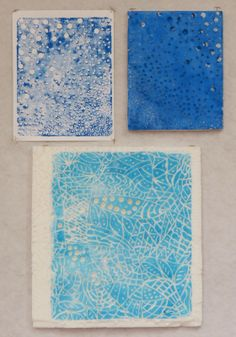 Approachable Art by Judi Hurwitt - using a heat tool to make foam core stamps