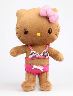 Hello Kitty w/ a Tan