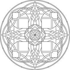 Another Spyderhouse mandala design.
