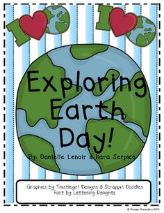 Explore Earth Day with your class by having them review their language arts skills with these fun, hands-on literacy centers! This 26-page packet i...