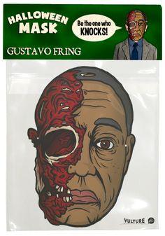 Halloween mask Gustavo Fring Breaking Bad