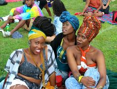 African Prints in Fashion: Impressions: AfroPunk 2014