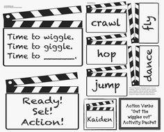 Classroom Freebies: Action Verbs Activities For Classroom Management
