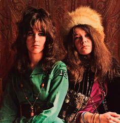 Grace Slick & Janis Joplin