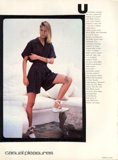US Vogue November 1983
