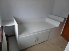 Working with an over stairs bulkhead single spare room for Stair box in bedroom ideas