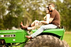 John Deere Wedding Engagement...yes!!! on the 40