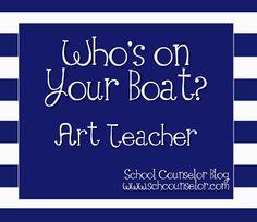School Counselor Blog: Whos on Your Boat? - Art Teacher