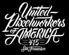 United Pixel Workers – Erik Marinovich Black