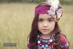 little girl photography session ideas, girl headband ideas, Garmendia photography