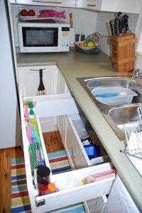 futur hous, kitchen storage, nice kitchen, designer kitchens, sink drawer, sinks, photographi stuff, drawers, kitchen inspir