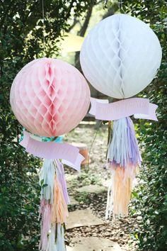 Beautiful pom poms