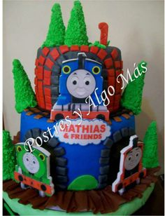 Torta de Thomas y sus amigos - Thomas and friends Cake