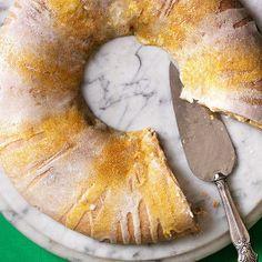 Cream Cheese King Cake