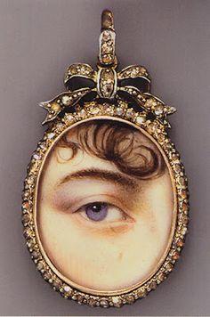 mysteri eye, lover eye, eye miniatur, georgian eye