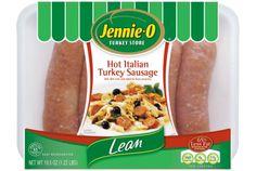4 links lean Italian turkey sausage, such as Jennie-O