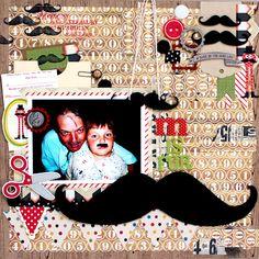 Mustache scrap therapi, mustach bash, mustach obsess, maddi birthday, mustach parti, birthday suppli