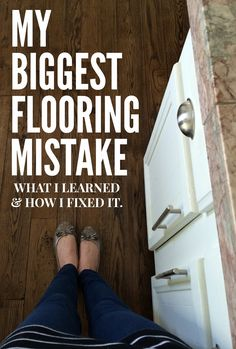 Our 1970's House Makeover Part 5: My Biggest Flooring Mistake (what I ...
