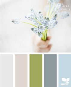 gathered tones -- colors for the bedroom