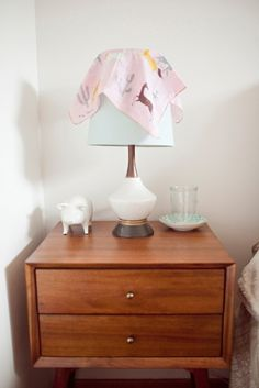 Mid-Century Nightstand from west elm via @Gilda Locicero Therapy